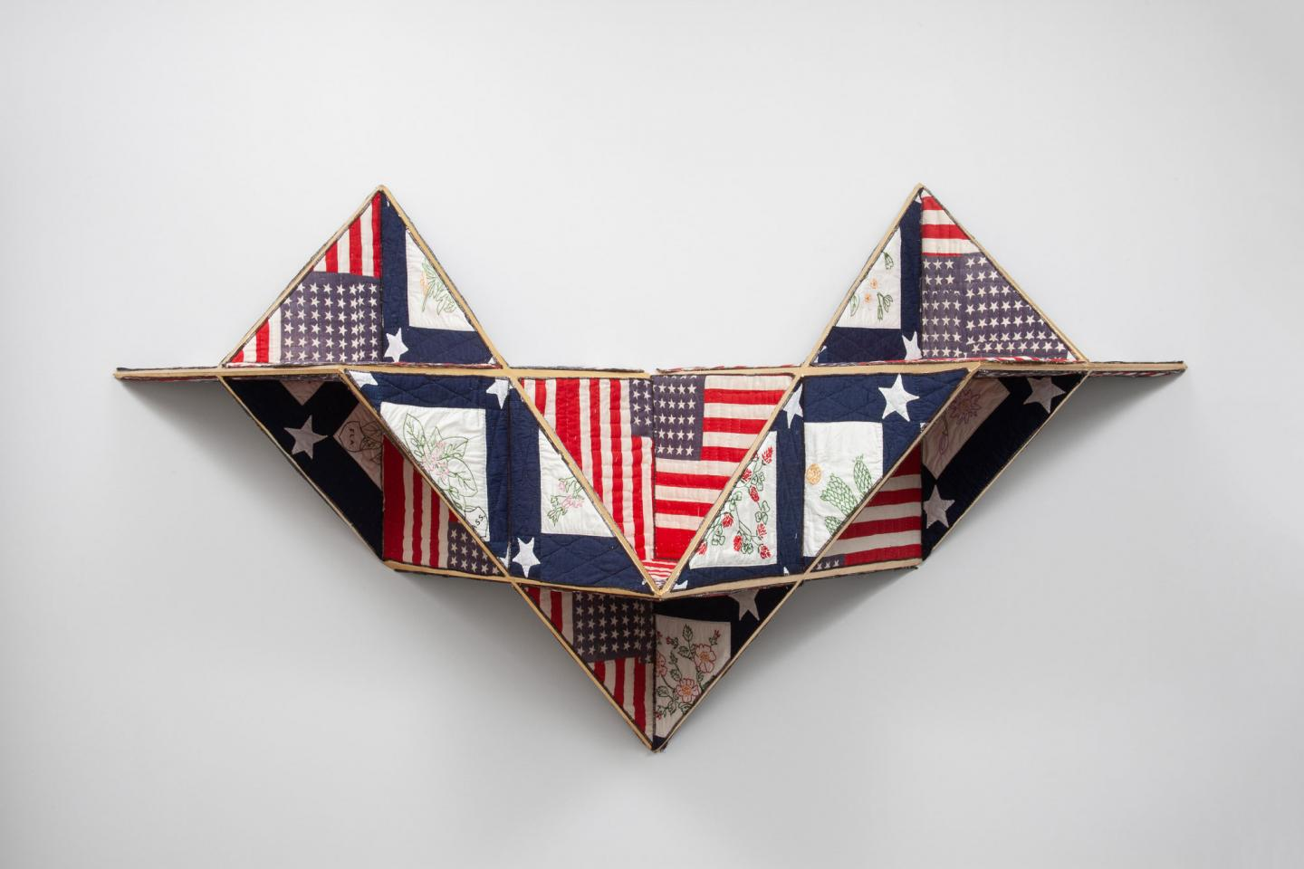 Sanford Biggers, Reconstruction, quilt work
