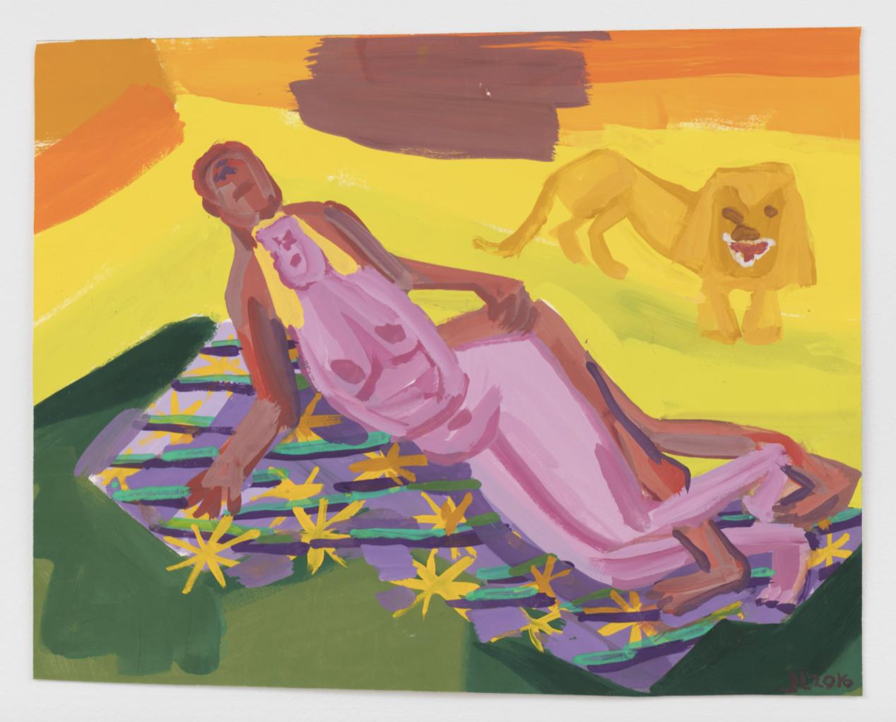 Judith Linhares, Lovers on the Plain