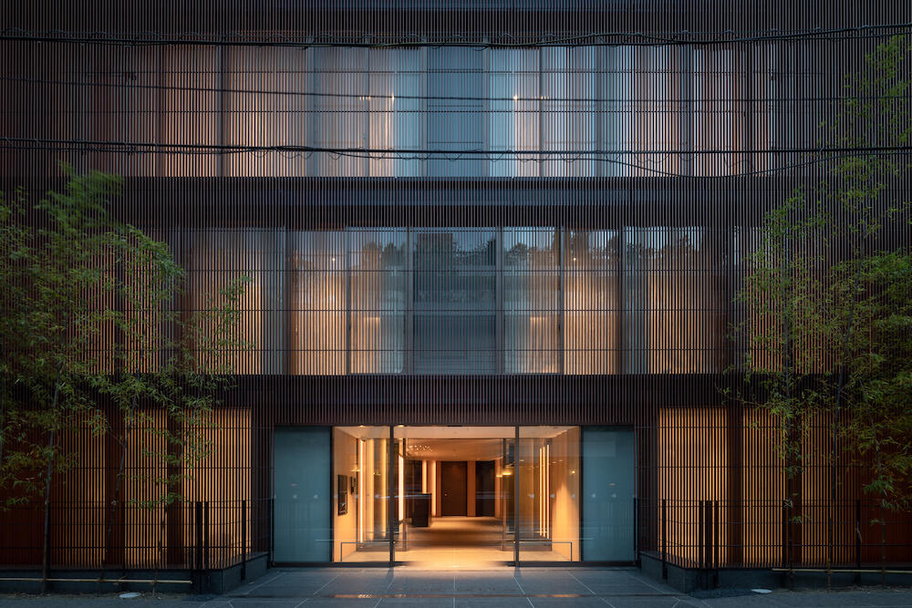 The Kita, Tokyo, Japan, designed by Kengo Kuma. Courtesy: List Sotheby's International Realty