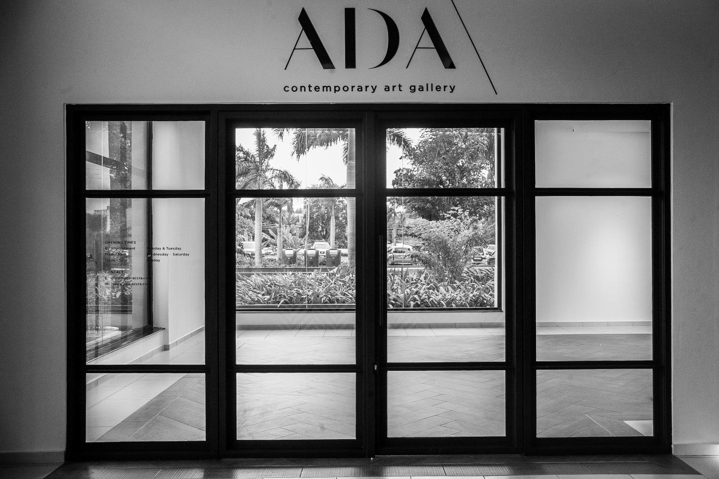 ADA \ Contemporary art gallery. Photograph: Daniel Cole Ofoe Amegavie.