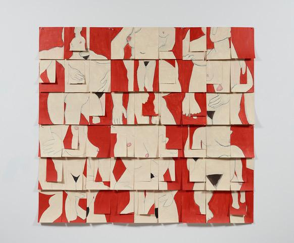 Susan Weil, Red Configuration, 2000