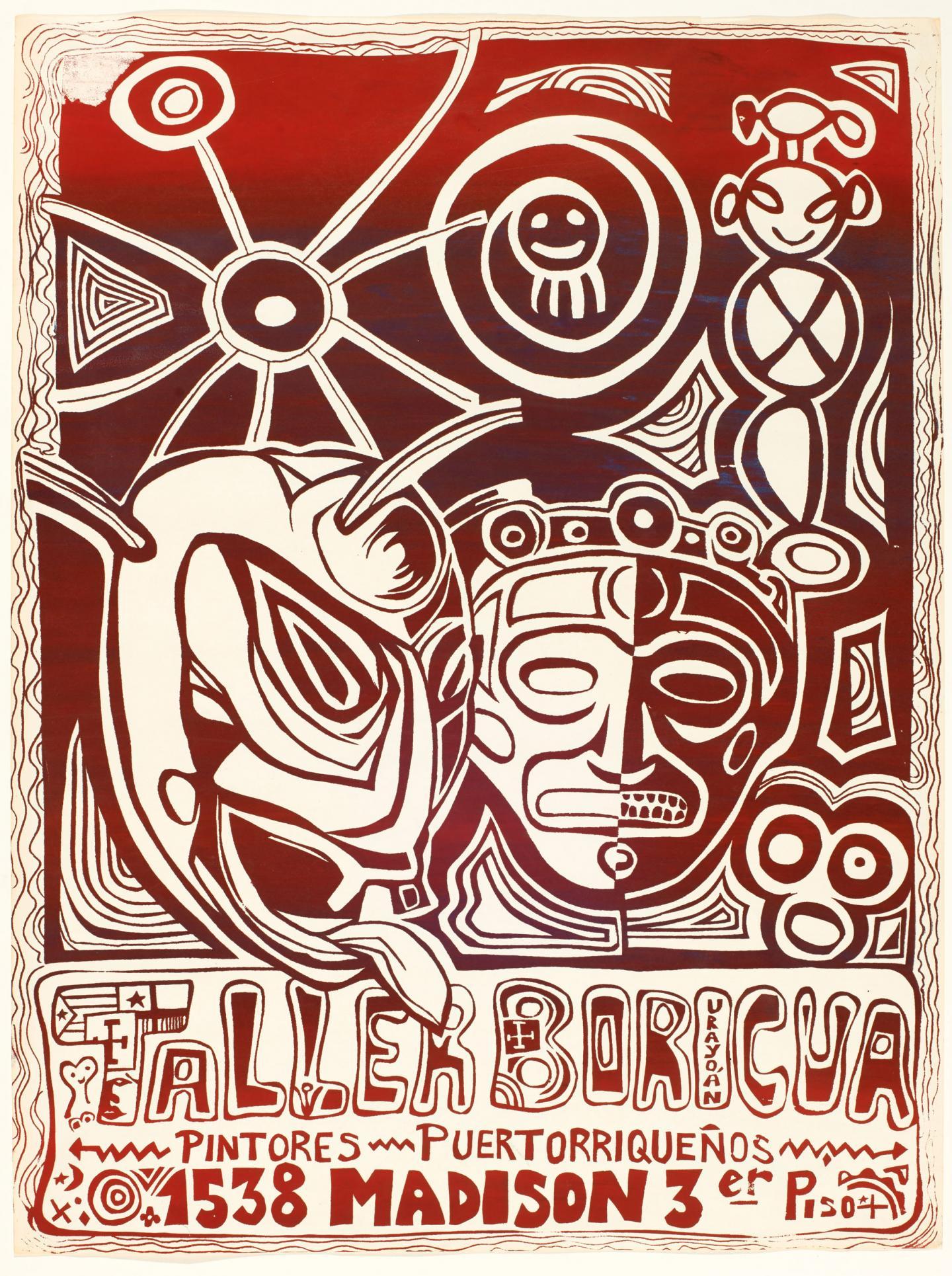 Jorge Soto Sánchez, Taller Boricua, 1974