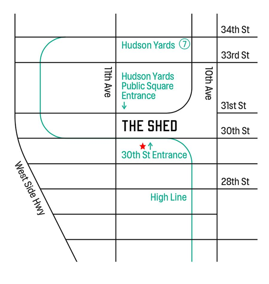 The Shed Main Entrance