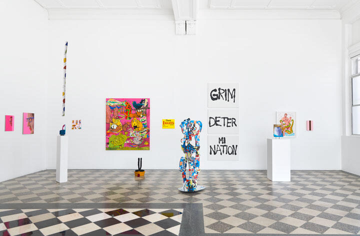 'The Going Away Present', 2021, exhibition view, Kristina Kite Gallery, Los Angeles. Courtesy: the artist and Kristina Kite Gallery, Los Angeles; photography: Brica Wilcox