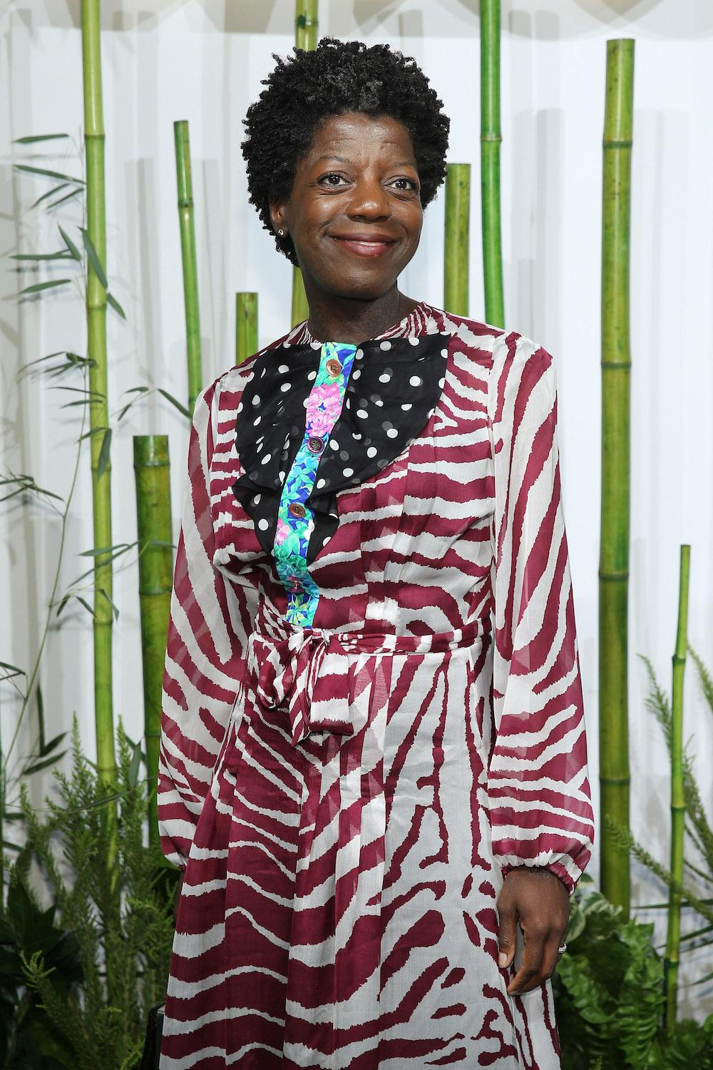 Thelma Golden attends the Museum Of Modern Art's 2015 Party In The Garden at Museum of Modern Art on June 2, 2015 in New York City. (Photo by Neilson Barnard/Getty Images)
