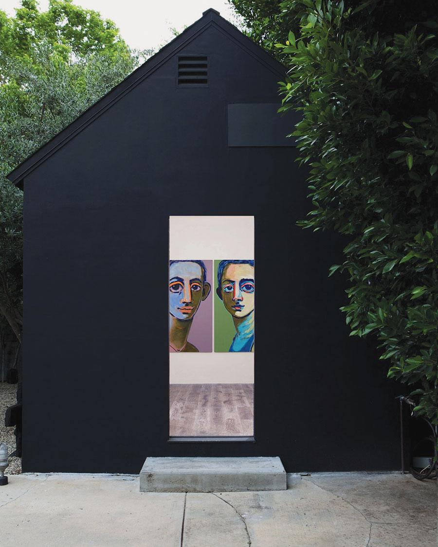 Aly Helyer, 2020, exhibition view, The Cabin, Los Angeles. Courtesy: the artist and The Cabin, Los Angeles