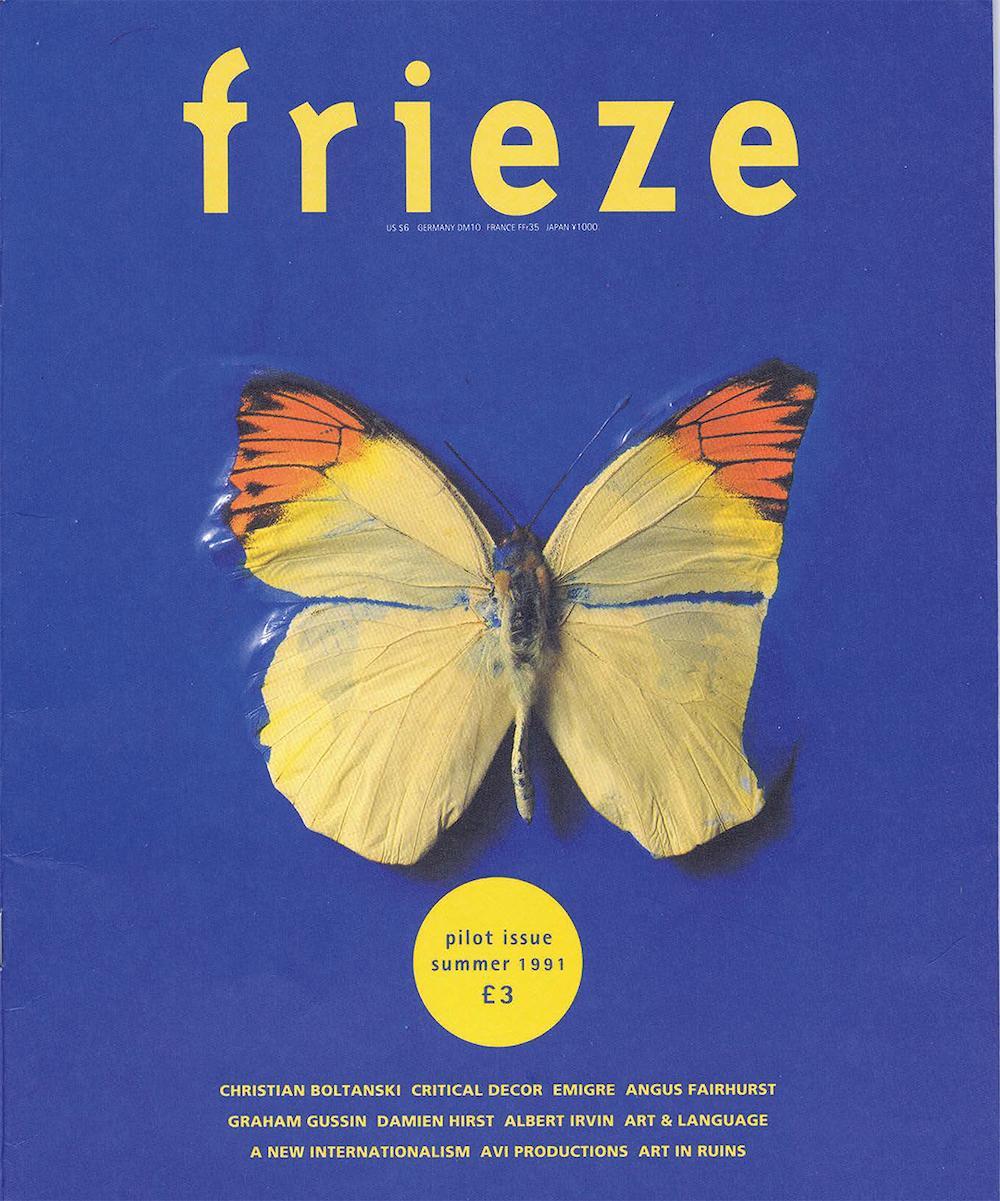 frieze magazine issue 1