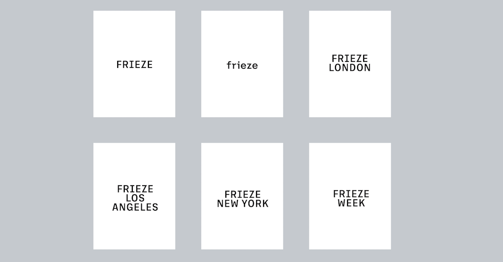 New logos by Pentagram Design