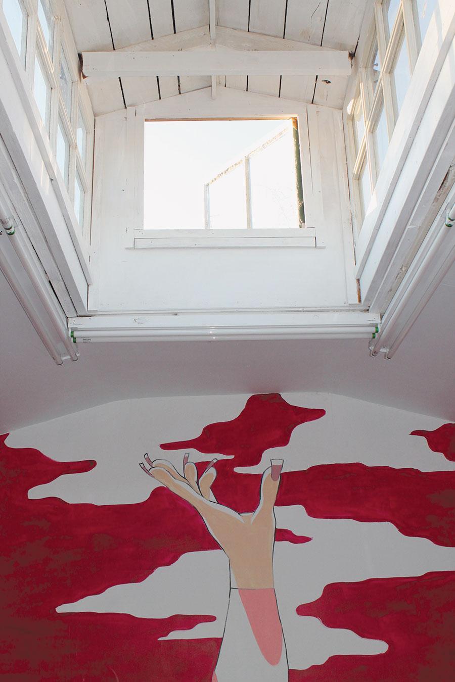 Julien Ceccaldi, 2013, exhibition view, Paradise Garage, Los Angeles. Courtesy: the artist and Paradise Garage, Los Angeles