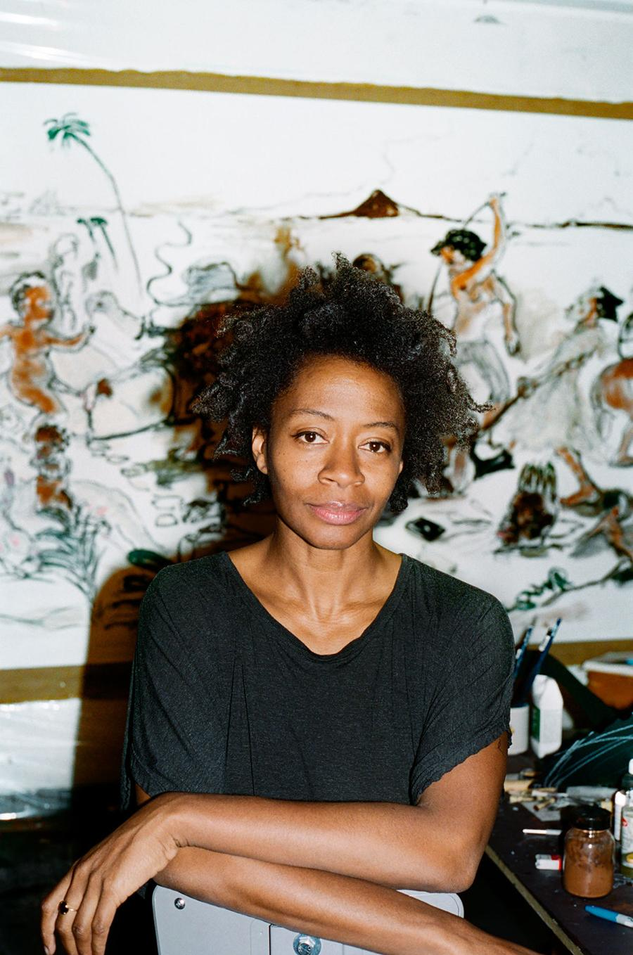 Kara Walker, 2019. Courtesy of Sikkema Jenkins & Co., New York; photograph: Ari Marcopoulos