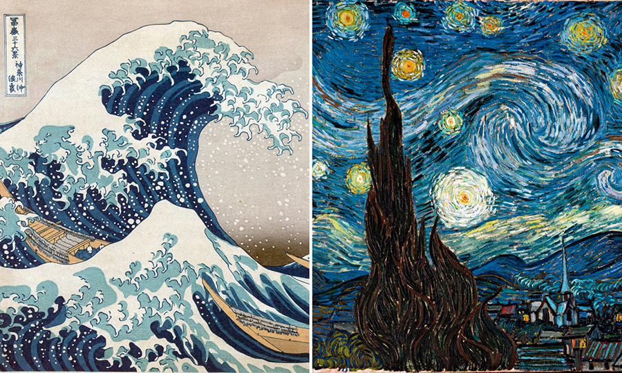 Was Van Gogh Inspired To Paint Starry Night After Admiring Hokusai S Great Wave Frieze