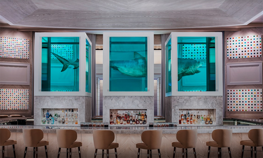 Damien Hirst Designs Shark Infested Bar In Vegas Says Art Can Survive Anywhere Frieze