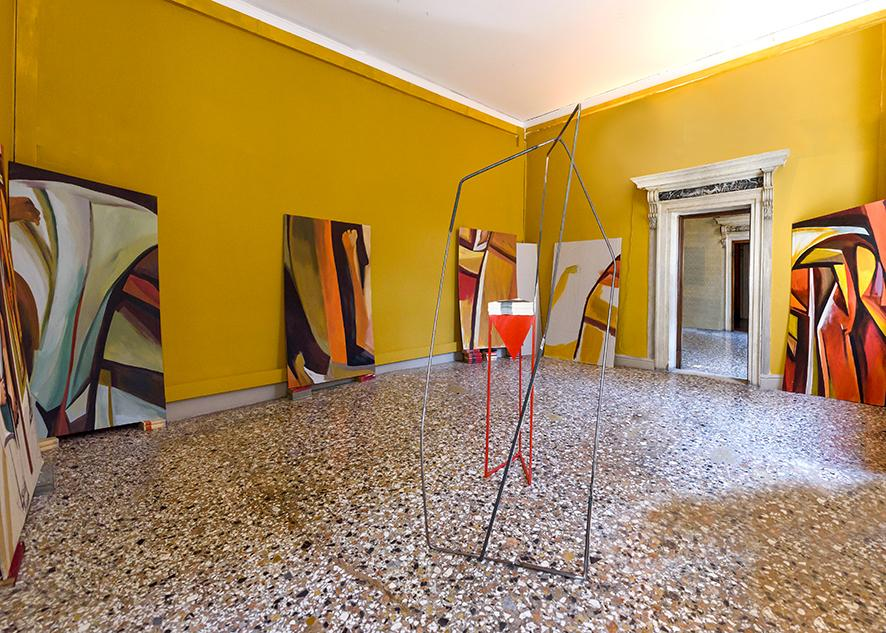 Nada Prlja, Epic of Freedom, 2020, installation view. Courtesy: Pavilion of the Republic of North Macedonia