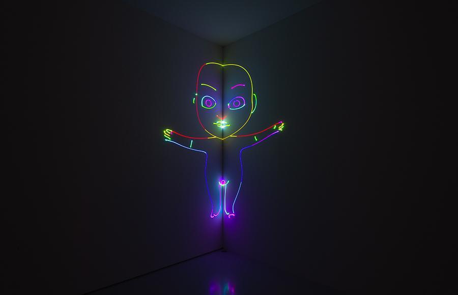 Matt Copson, Coming of Age, 2020, installation view, High Art, Paris. Courtesy: the artist and High Art, Paris