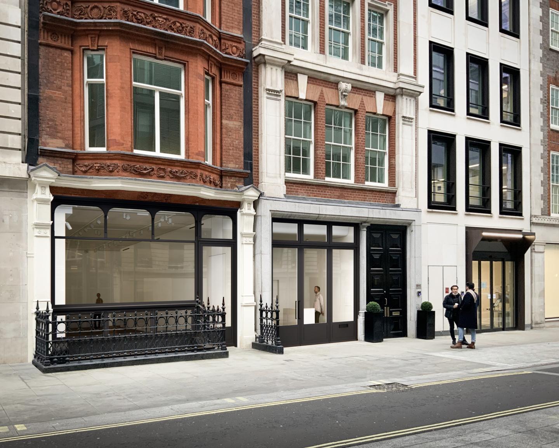 No. 9 Cork Street facade