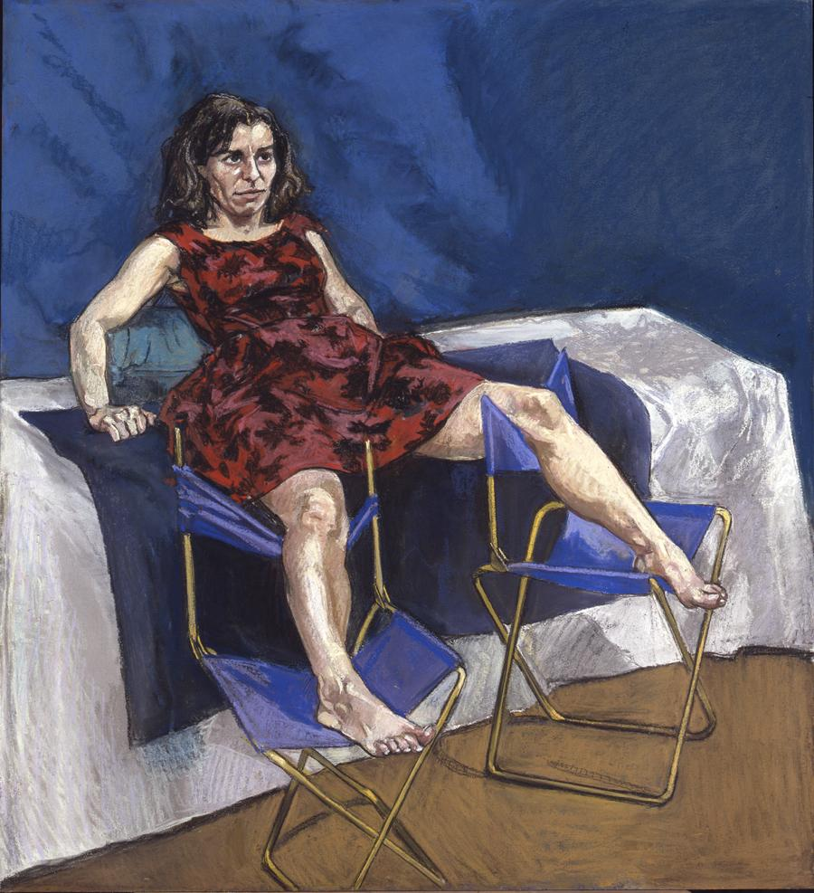 Paula Rego, Untitled No. 5, 1998, pastel on paper, 110 x 100 cm. Courtesy: © the artist and Marlborough Fine Art, London