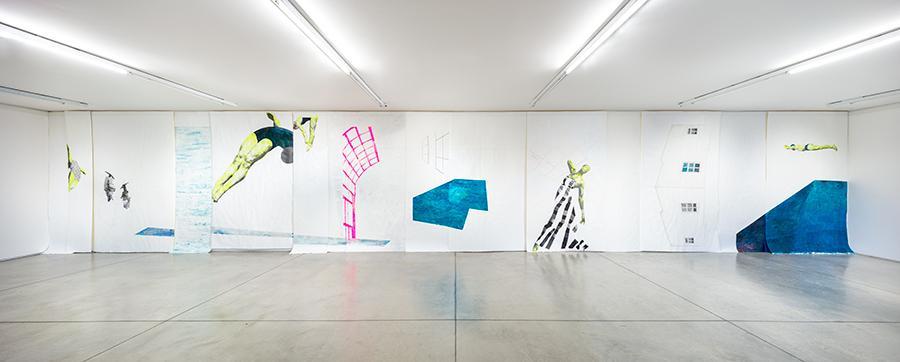 ruby onyinyechi amanze  HOW TO BE ENOUGH veduta di mostra / exhibition view  Collezione Maramotti, 2021 Ph. Roberto Marossi