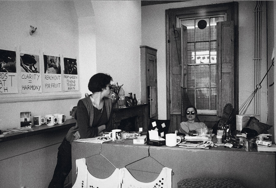 Tracey Emin and Sarah Lucas, The Shop, London, 1993. Courtesy: Pauline Daly and Sadie Coles HQ, London; photographs: Pauline Daly
