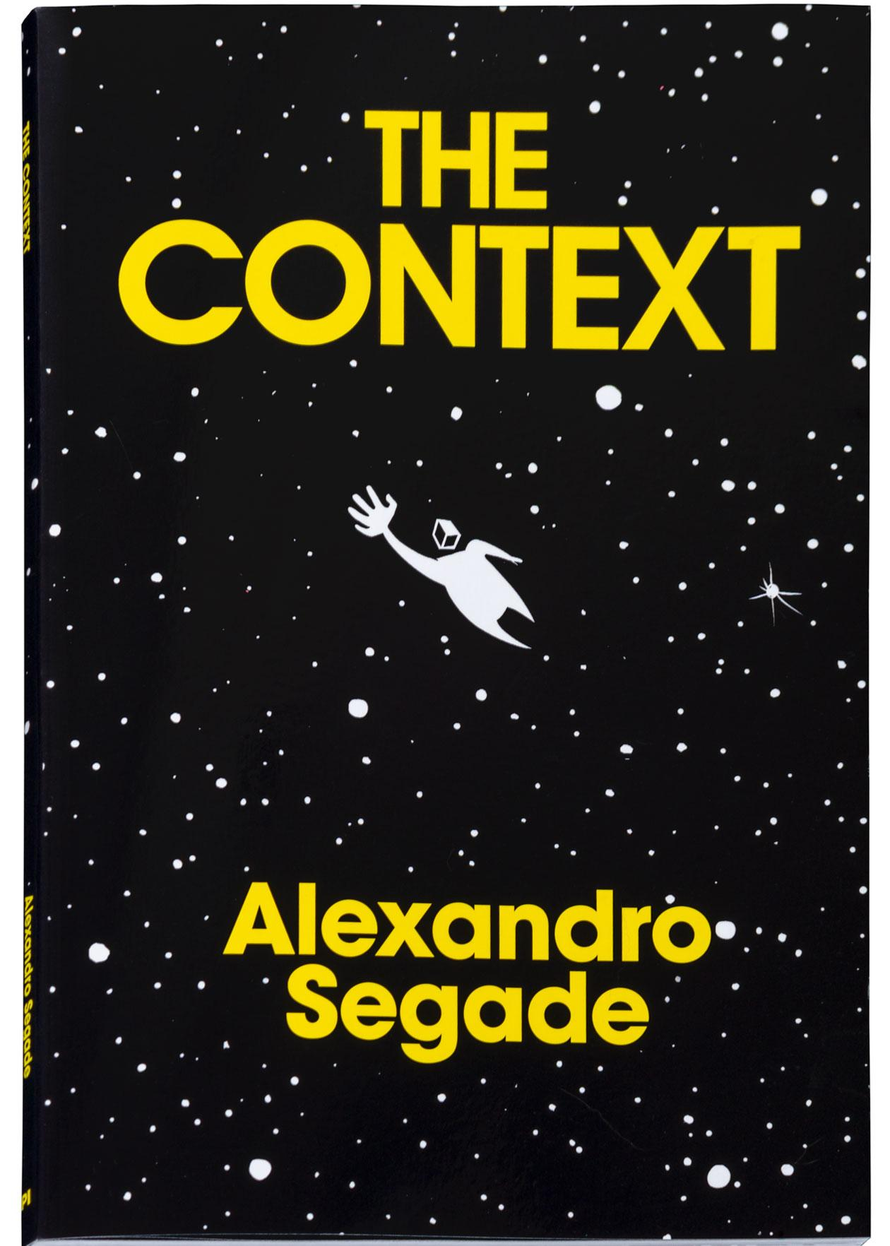 Alexandro Segade, The Context, book cover, 2020