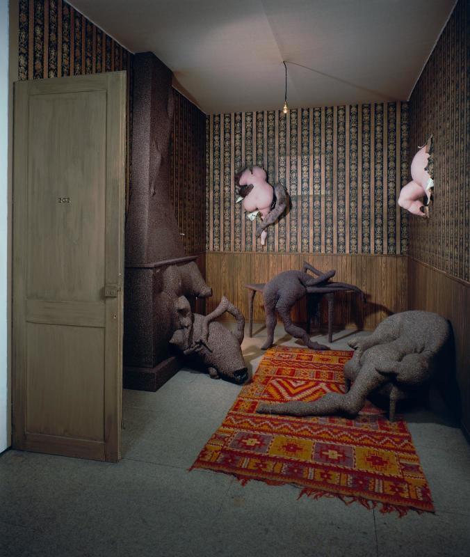 Dorothea Tanning, Chambre 202, Hôtel du Pavot, 1970. Courtesy: © Service de la documentation photographique du MNAM - Centre Pompidou, MNAM-CCI /Dist. RMN-GP © The Estate of Dorothea Tanning / Adagp, Paris