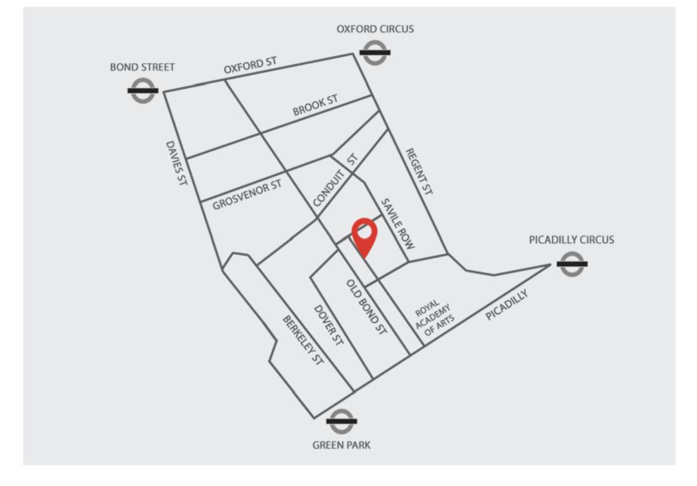 map of cork street