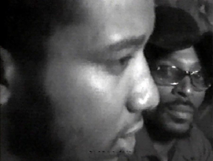Videofreex, Fred Hampton: Black Panthers in Chicago, 1969. Courtesy: Videofreex and London Short Film Festival