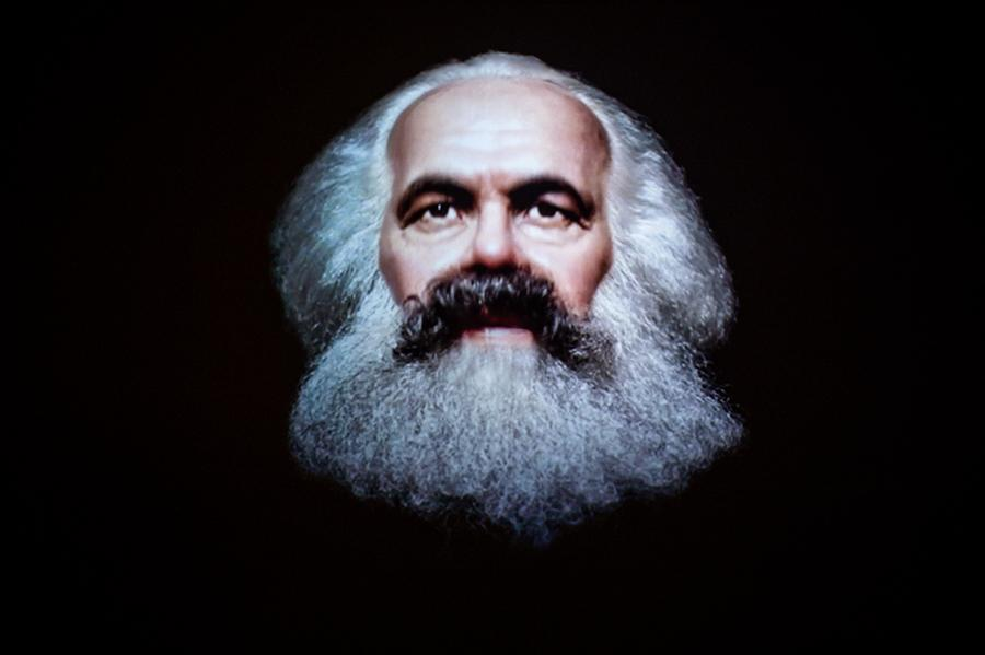 Daniel G. Andújar, The Communist Manifesto, 2019, video still. Courtesy: the artist