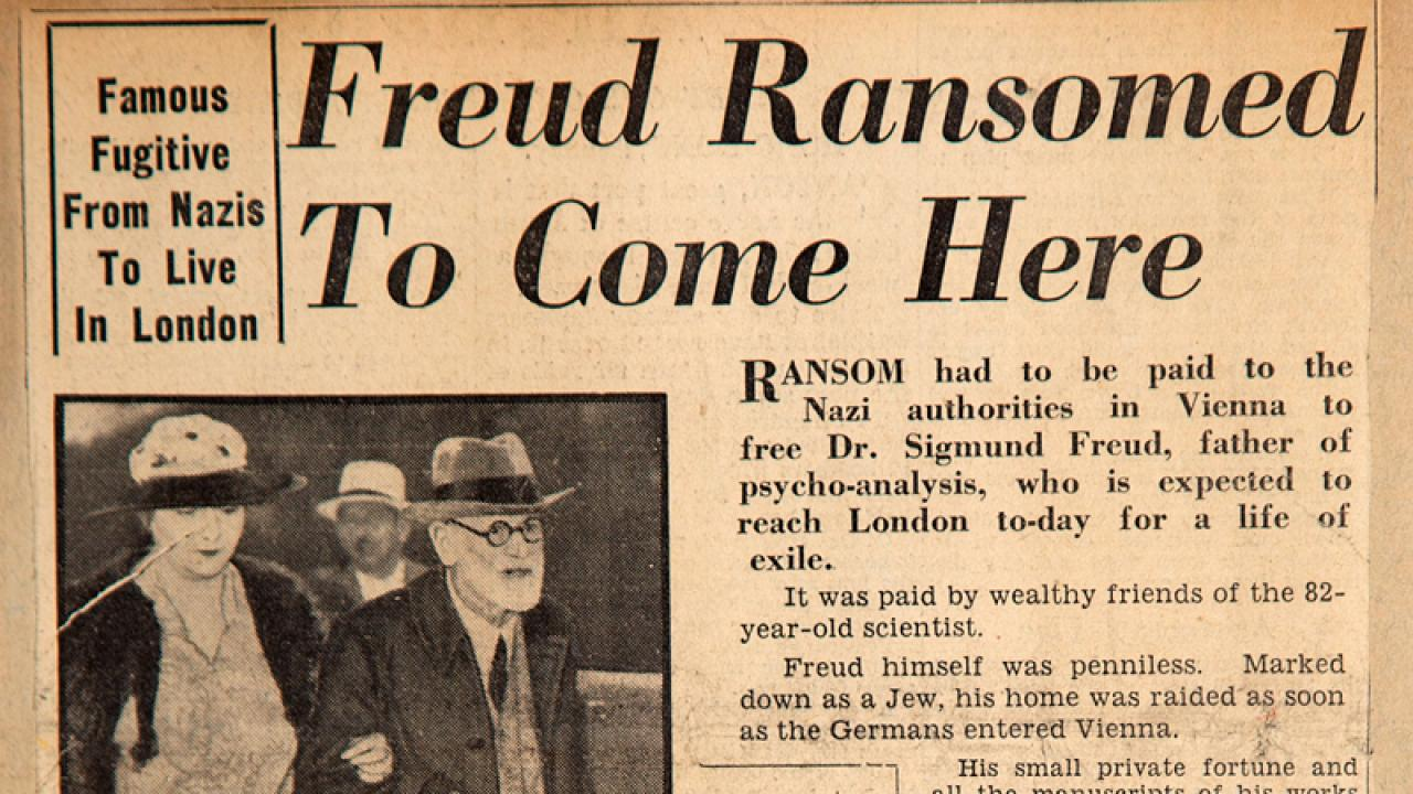 Eighty Years Ago, Both Sigmund Freud and the 'Degenerate' Art Exhibition Came to London | Frieze