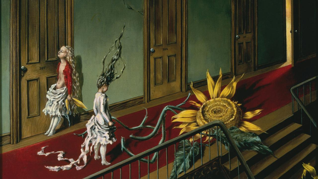 How Paint and Perception Collide in the Work of Late Surrealist Dorothea Tanning