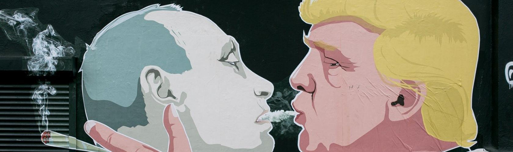 The Strange Roots Of The Homophobic Trump Putin Kissing Meme Frieze